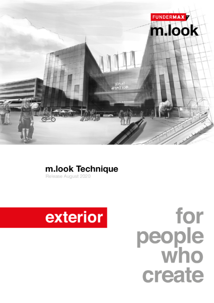 m.look non-combustible panels - technical manual