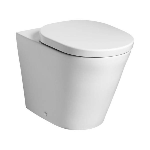 Mincio Back To Wall WC Suite with Aquablade technology