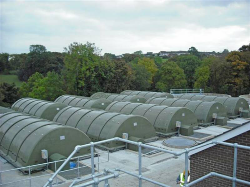 Sewage Treatment Plant - Wastewater Treatment Plant for a population of 5,800