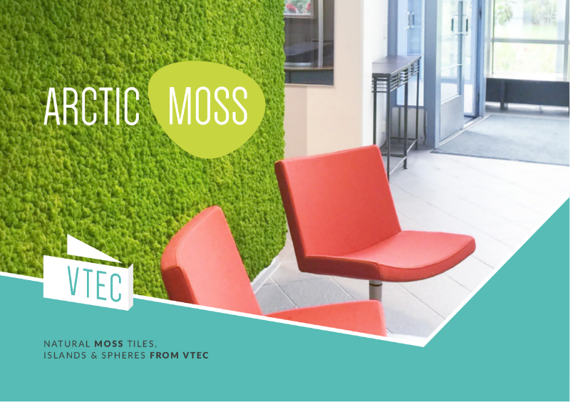 Arctic Moss Brochure - Biophilic design without the hassle of a Living Wall