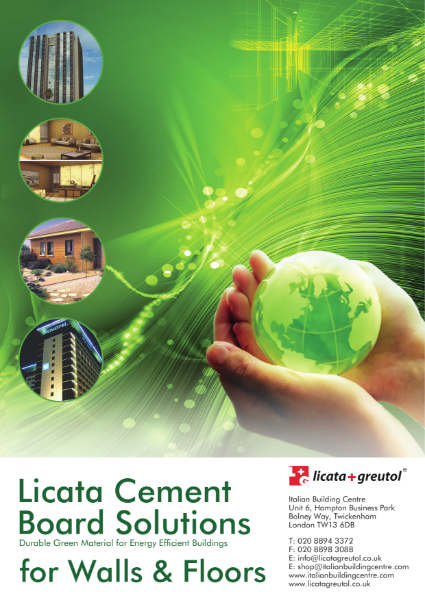 5. Licata Cement Board