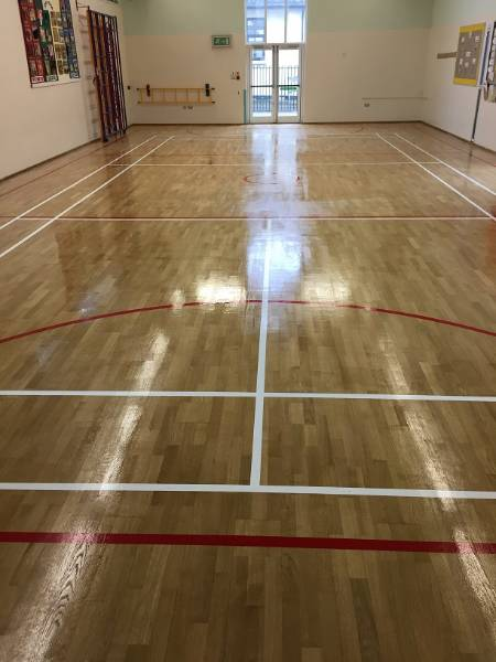 Kempsford Primary School - Sand & Reseal Maintenance