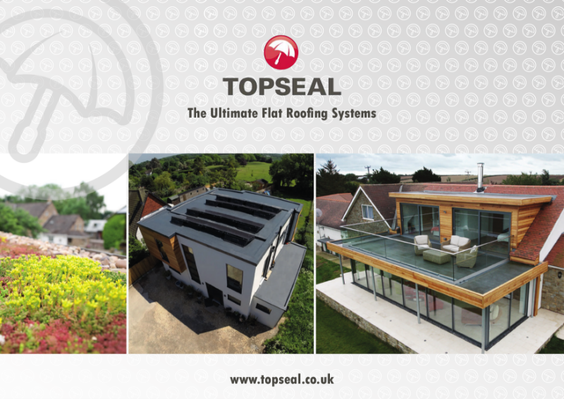 Topseal Domestic Brochure (GRP) fibreglass flat roofing and waterproofing systems