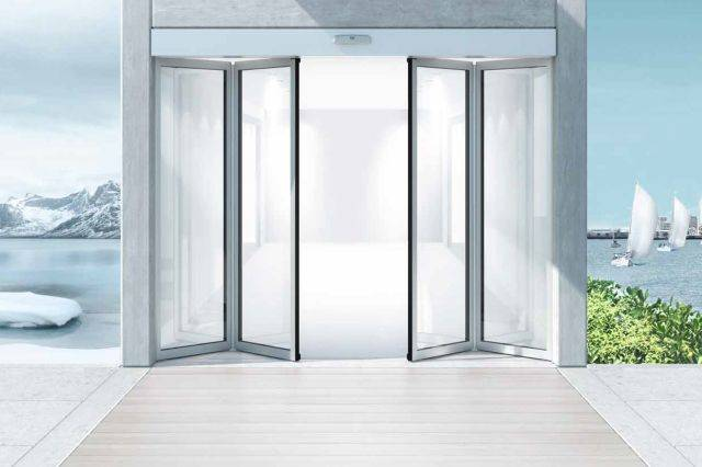 Sliding folding doorsets