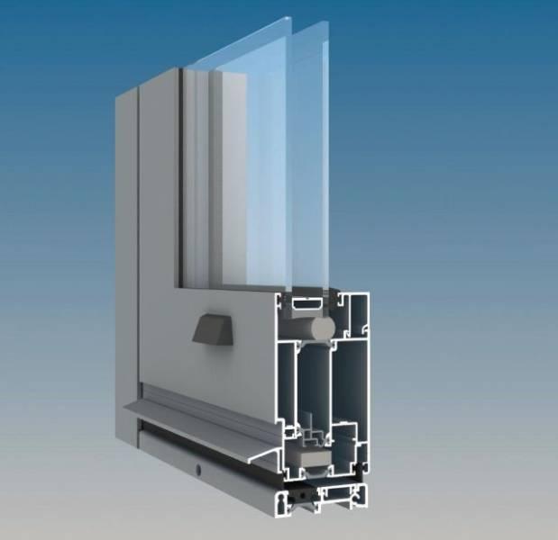 AA545 Aluminium Thermally Broken Door