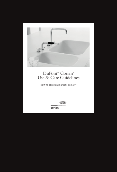 DuPont Corian - Use & Care Guidelines