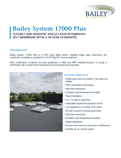 Bailey System 17000 Plus