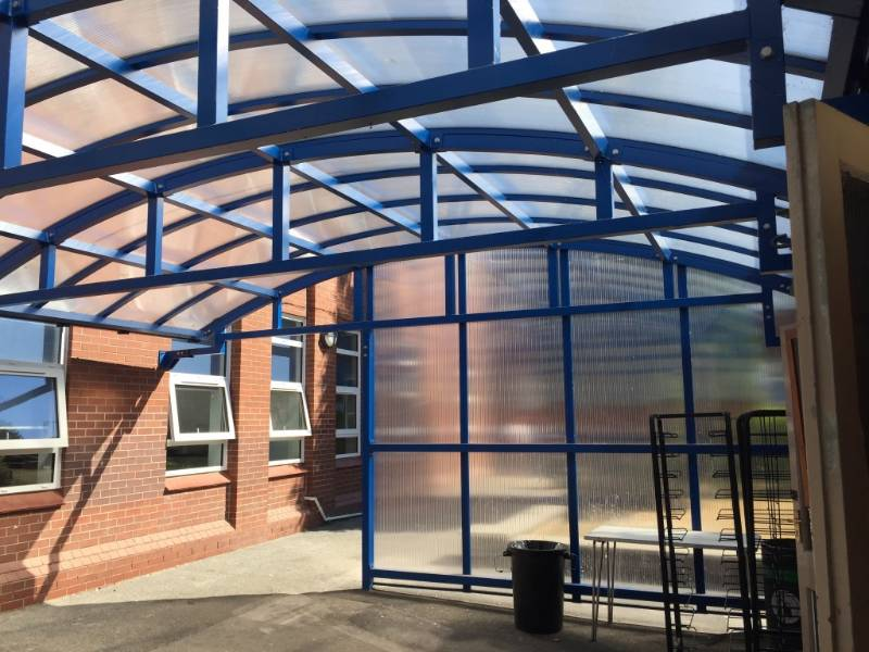 Twinfix canopy plays its part in an academy's expansion programme