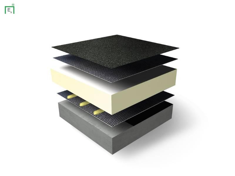 Excel Spot Warm Roof Waterproofing System - Flat