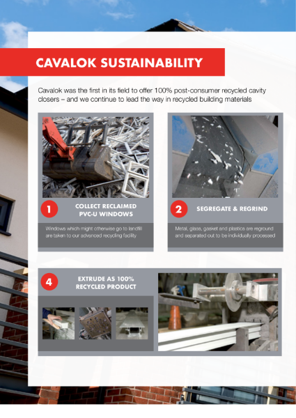 Cavalok Cavity Closer Sustainability Information