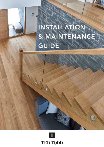 Installation & Maintenance Guide