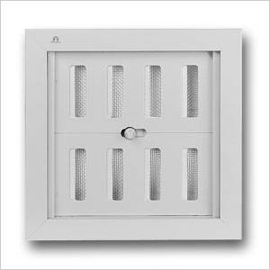 Aluminium Controllable Internal Louvre Grille 441