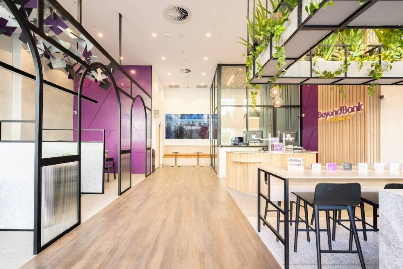 Pinnacle's Beyond Bank Canberra Fitout