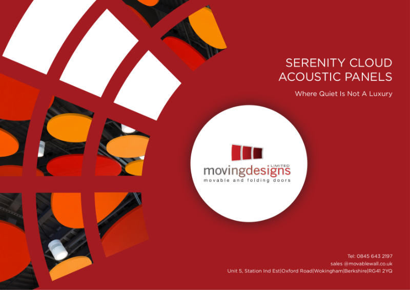 Serenity Cloud Acoustic Panel Brochure