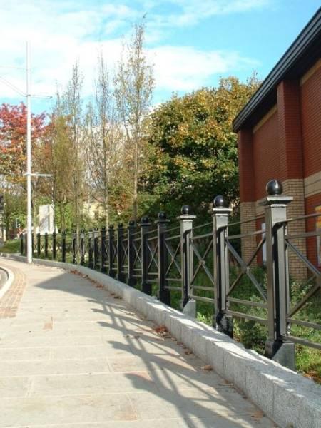 ASF Blackburn Post and Panel Railings