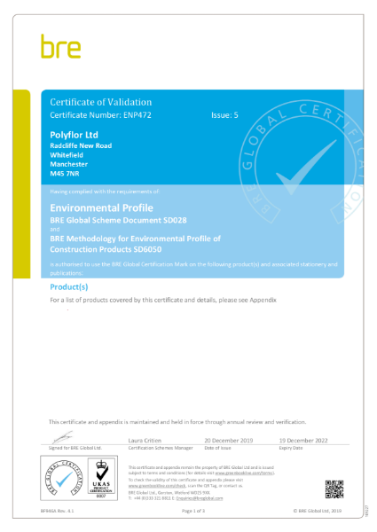 BRE Certification