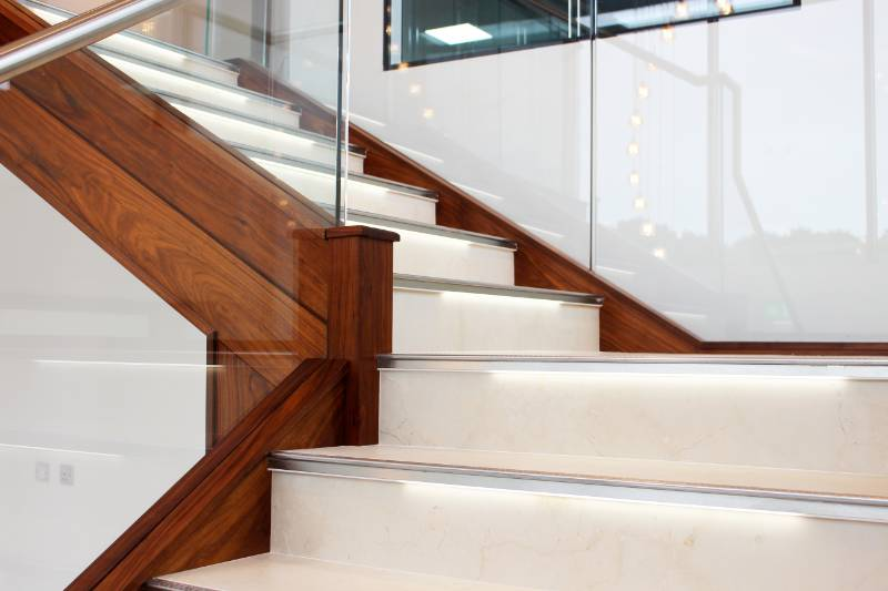 Longvale Ltd - Giving the Edge to a Commercial Staircase