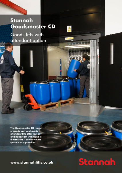 Stannah Goodsmaster CD - Goods & Goods Attendant Lifts