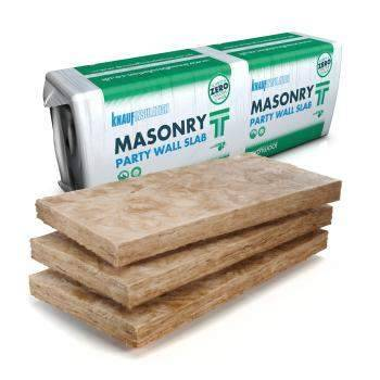 Knauf Insulation Masonry Party Wall Slab