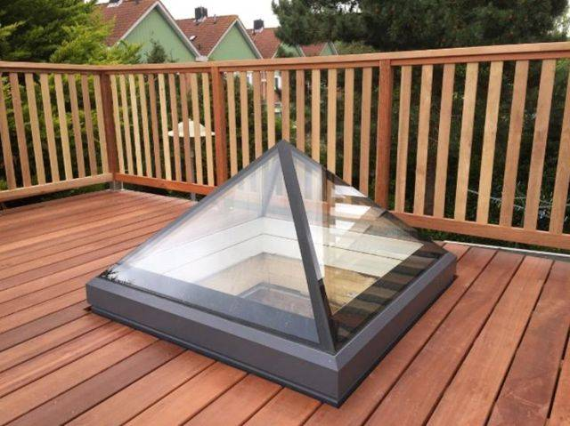 The Fixed Pyramid-Lantern Skylight