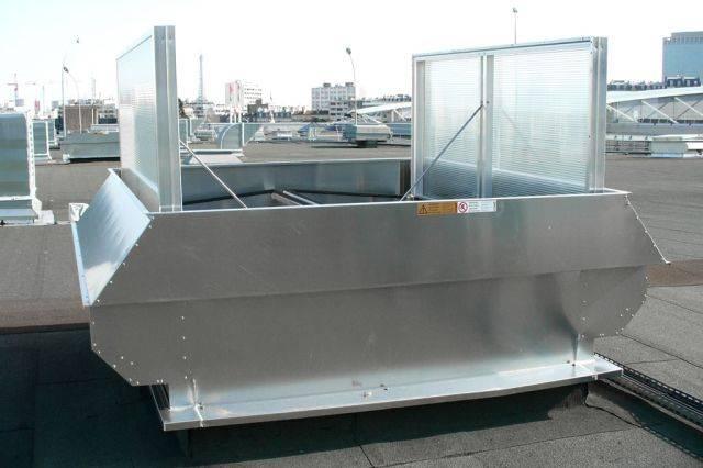 Apollo ATI natural ventilator for weathered ventilation
