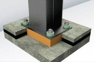 Fabreeka-TIM® RF Series for Light Structural Loads in Compression