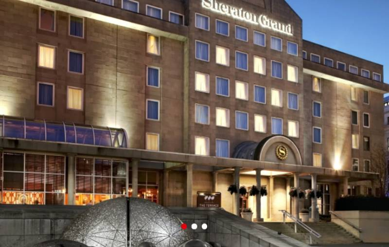 Sheraton Grand Hotel & Spa, Edinburgh, Scotland