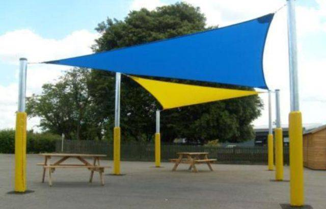 Able Shade Sail - Triangular Canopy