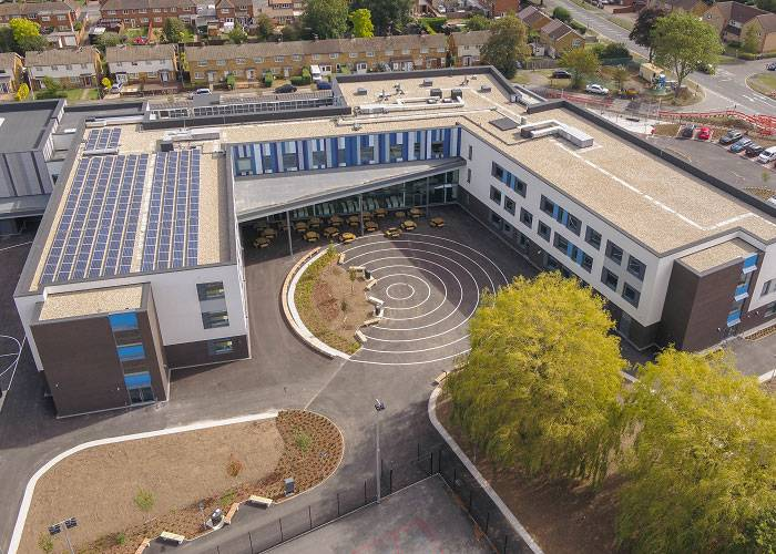 Natural day-to-day ventilation at St Michael's Catholic School