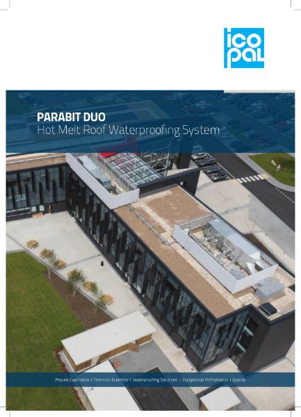 Icopal Parabit Duo Hot Melt Waterproofing System