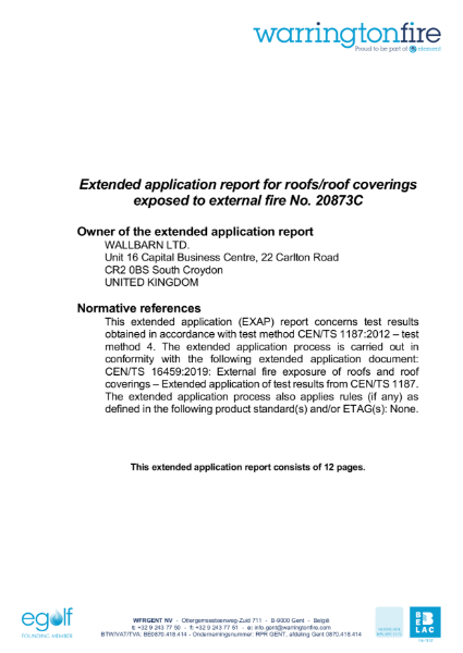 M-Tray B ROOF t4 Extended Application Report