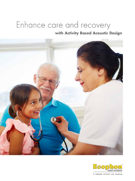 Healthcare solutions with Ecophon