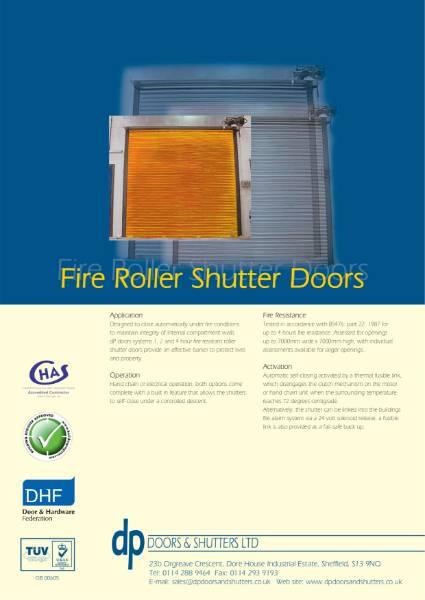 Steel Fire Shutter