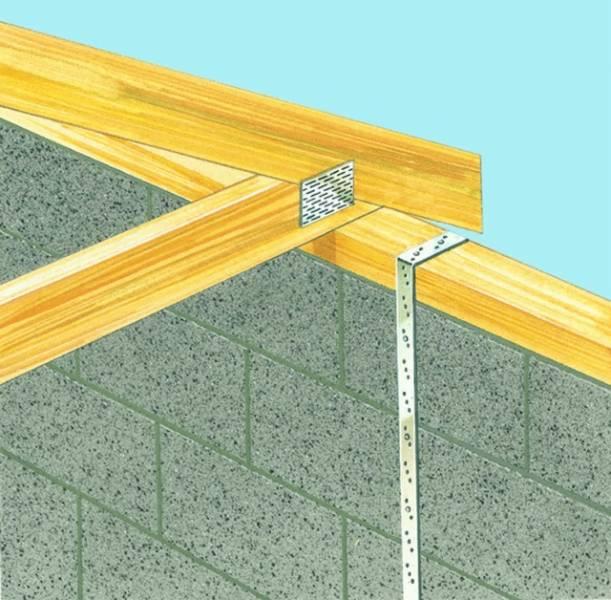 Carbon Steel Vertical Restraint Straps