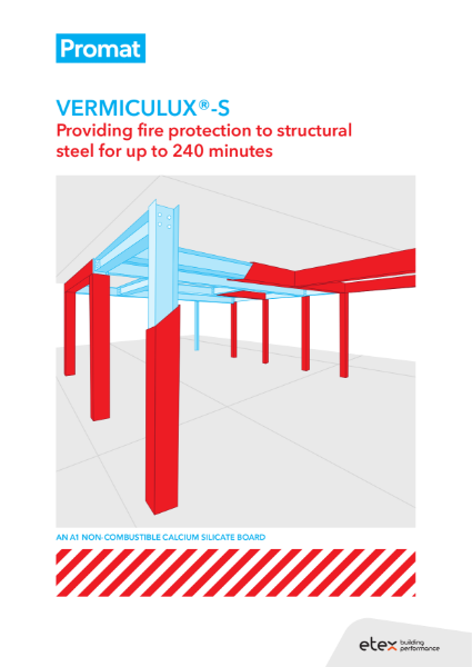 Vermiculux-S Protection Of Structural Steel Brochure