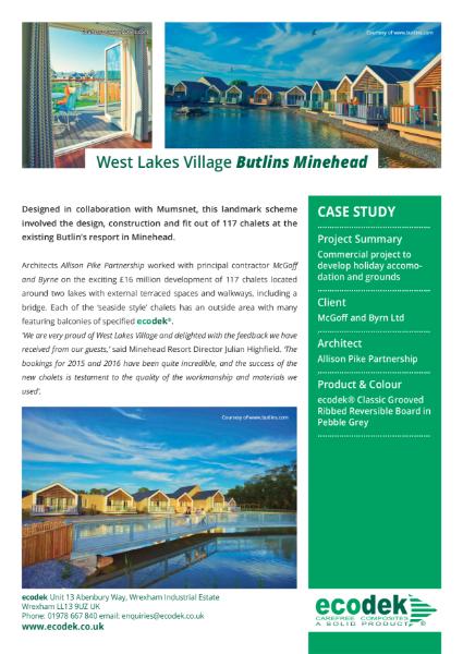 ecodek® Case Study - West Lakes Village.