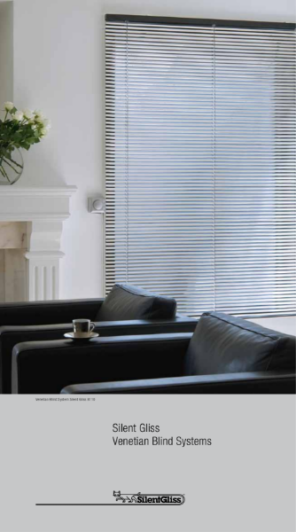 Venetian Blind Systems by Silent Gliss