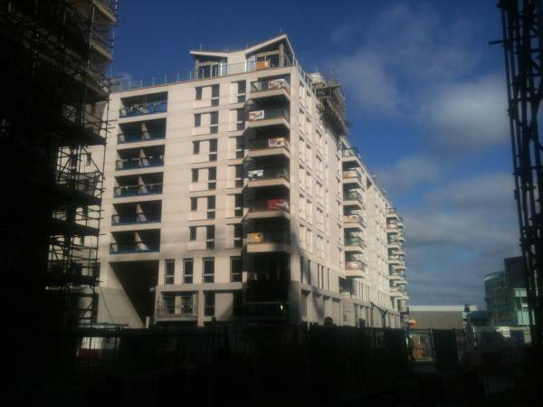 Olympic Village : ECOSCREED Thermal M10 TF