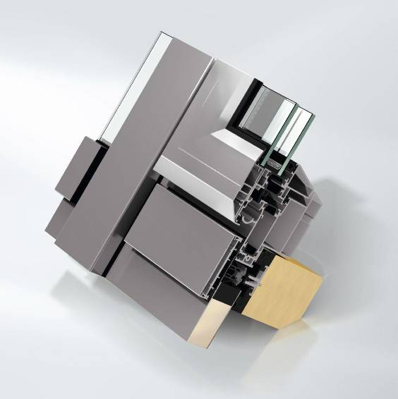 Aluminium window system roof - AWS57 RO