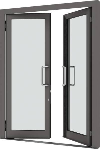 VELFAC 500 Glazed Entrance Door