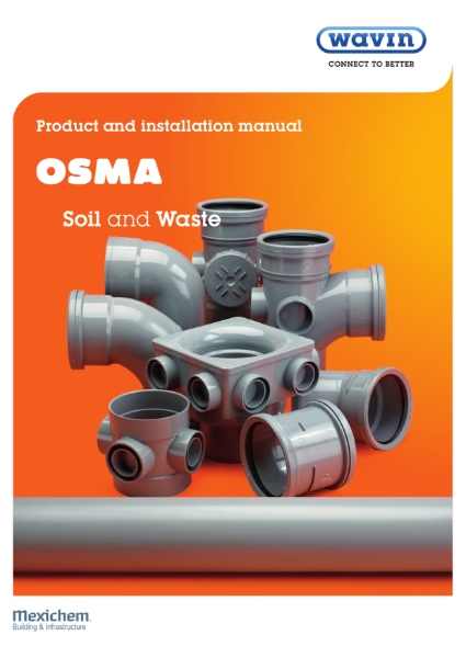 Osma Soil and Waste Product & Installation Guide