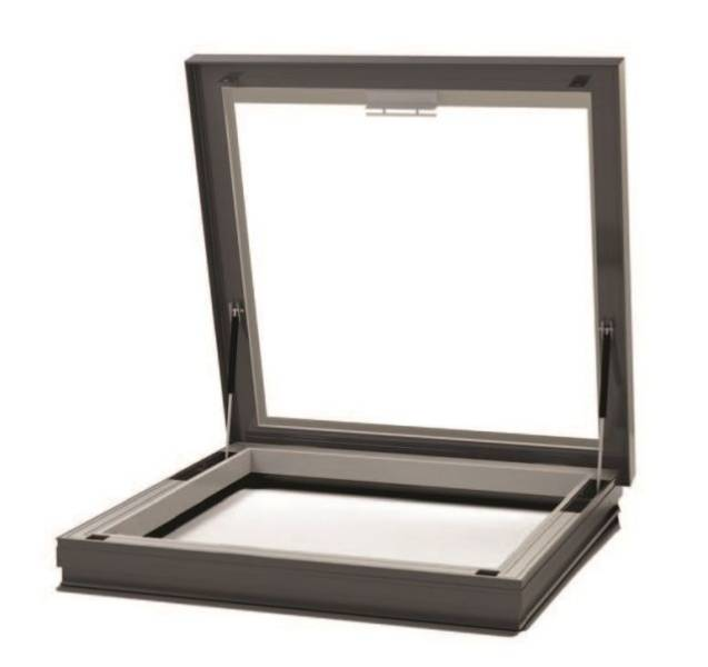 RG-80-20 Manual Access Flat Glass Rooflight