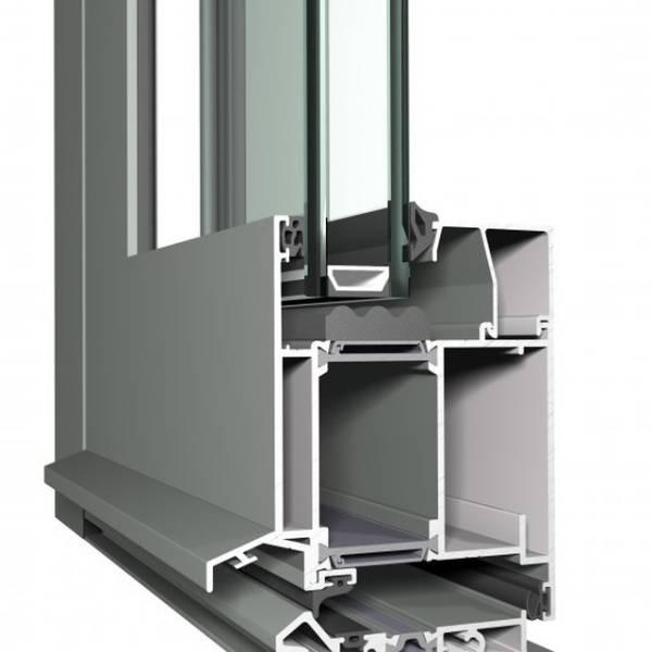 Aluminium Door CS 86 Concept System