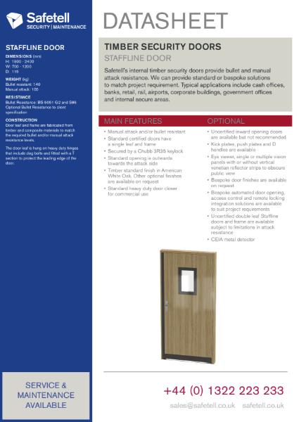 Staffline Doors