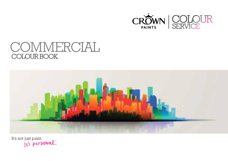 Crown Paints Commercial Colour Book