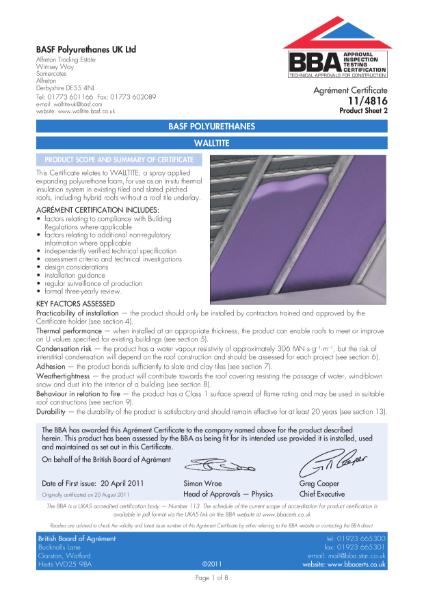 11/4816_2 WALLTITE Sheet 2