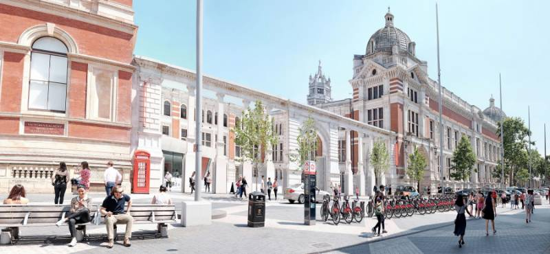Seamless cohesion' achieved for London's Victoria and Albert Museum