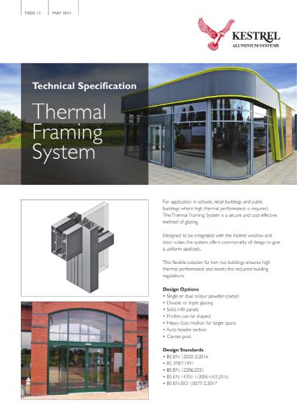 Kestrel Thermal Framing System