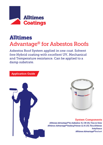 Advantage for Asbestos Roofs - Application Guide