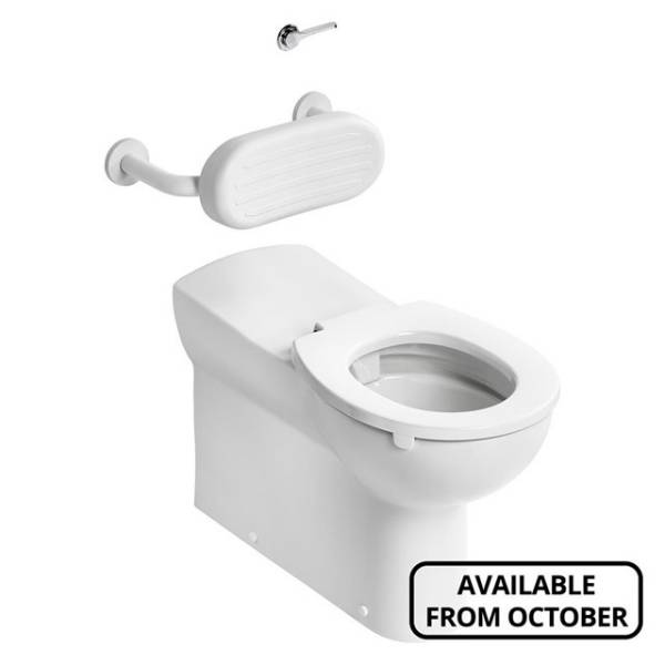 Contour 21+ 75cm Projection Back to Wall Rimless WC Suite